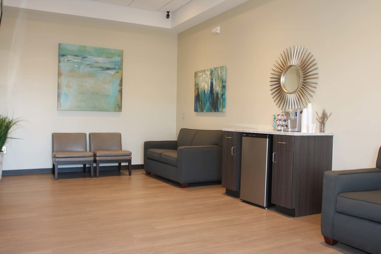 Prairie Fields Dentistry - Plush Waiting Room